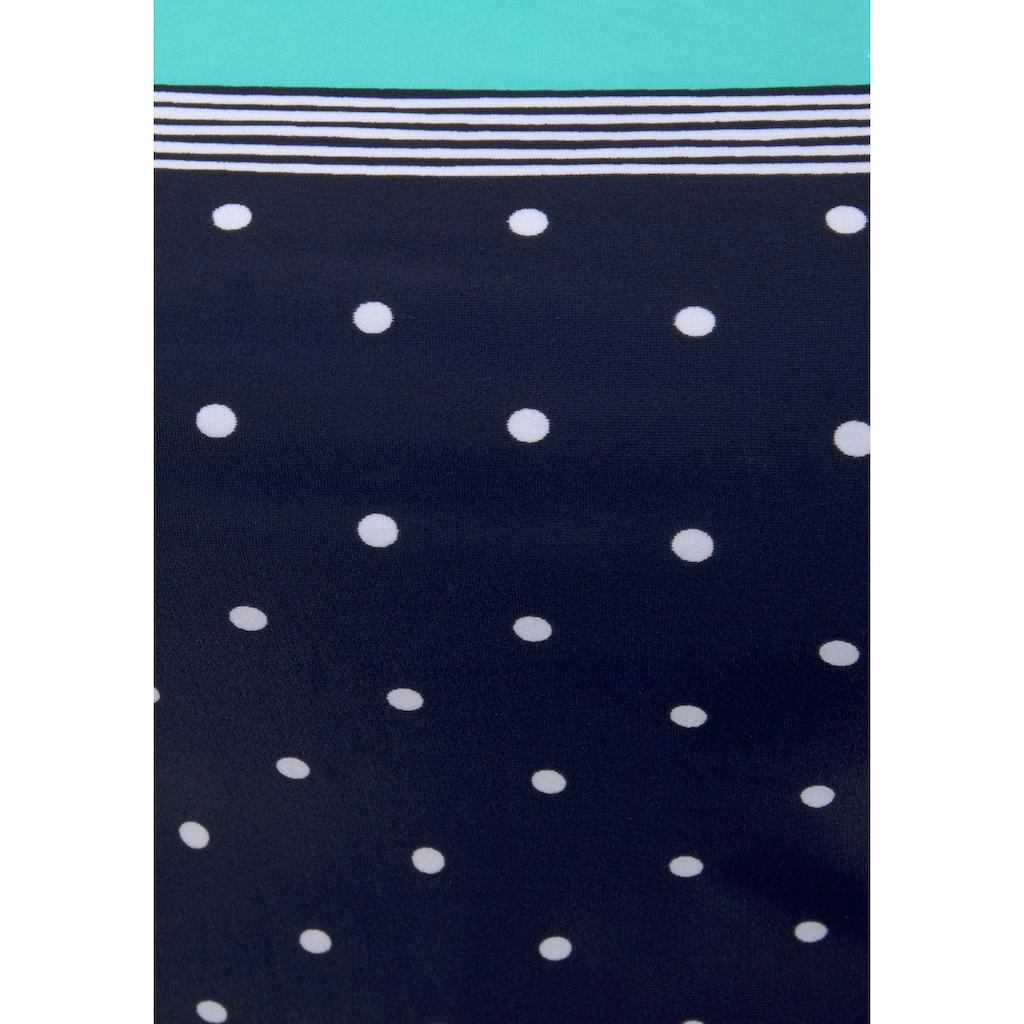 LASCANA Badeanzug »Monroe«, mit kleinen Pünktchen und Shaping-Effekt