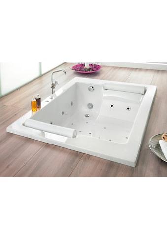 OTTOFOND Whirlpool-Badewanne »Maharaja«, Typ Exklusiv chrom und zwei Nackenrollen kaufen