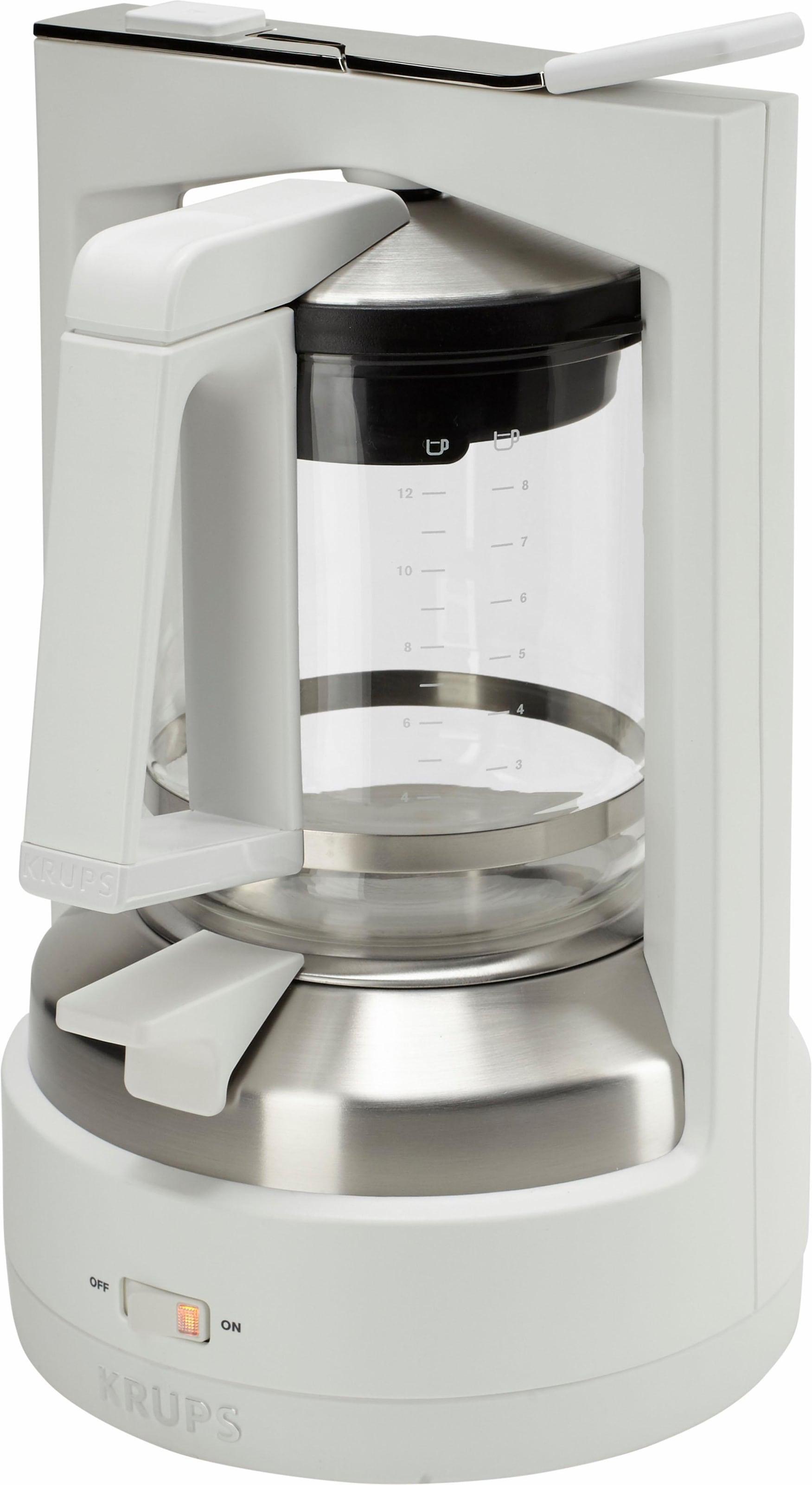 Krups Kaffeemaschine ProAroma F 309 01 F30901 weiss matt