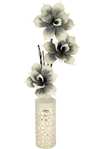 I.GE.A. Kunstblume »Soft-Rosenbund«, in Vase kaufen