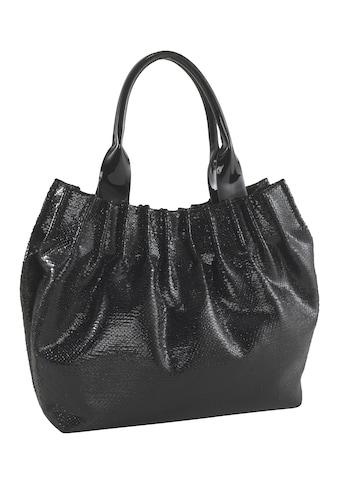 Tasche in Glanzoptik kaufen