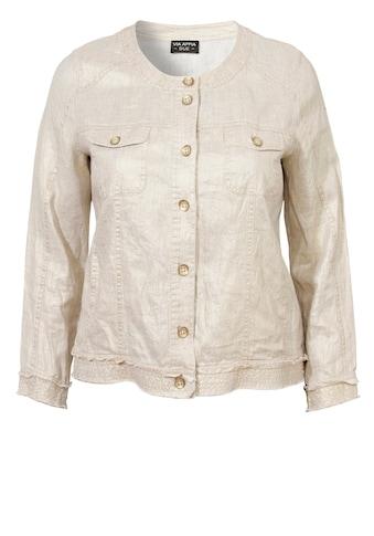 VIA APPIA DUE Schimmernde Jacke im Used-Look kaufen