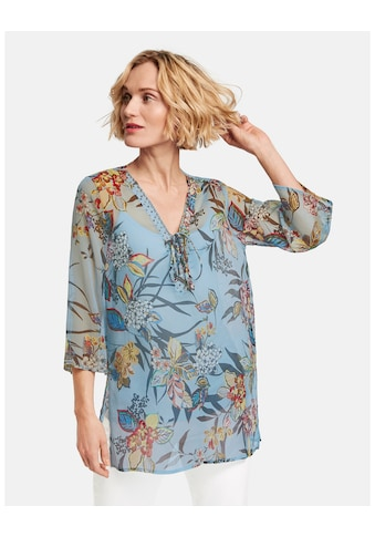 GERRY WEBER Bluse 3/4 Arm »Tunika mit floralem Muster« kaufen