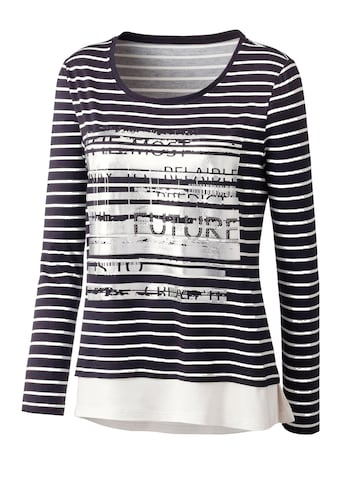 Inspirationen 2 - in - 1 - Shirt mit Glitzersteinchen kaufen