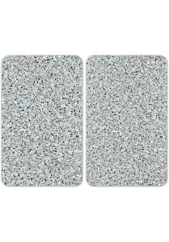 WENKO Herd-Abdeckplatte »Universal Granit«, (Set, 2 tlg.) kaufen