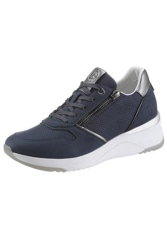 bugatti Wedgesneaker »RISE«, mit Kontrastbesatz kaufen