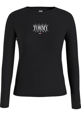 Tommy Jeans Langarmshirt »TJW SLIM ESSENTIAL LOGO 1 TEE LS«, mitTommy Jeans... kaufen