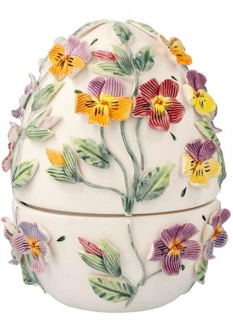 Goebel Osterei »Bunte Stiefmütterchen«, Ei-Dose aus Porzellan kaufen