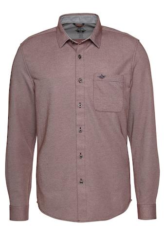 Dockers Langarmhemd, mit Stickerei auf der Brusttasche kaufen