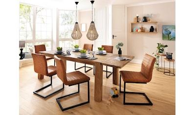 Home affaire Essgruppe »Alberte«, 7 tlg., bestehend aus dem Sabina Stuhl + Marianne... kaufen
