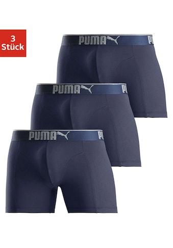 PUMA Boxer »Lifestyle Sueded Cotton Boxer 3P« kaufen