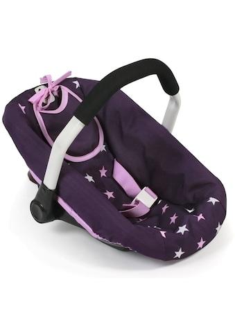 CHIC2000 Puppen Autositz »Stars lila« kaufen