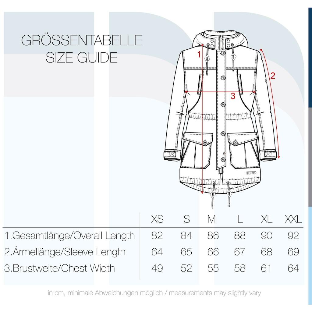 DESIRES Parka »Annabelle«, warme Jacke mit abnehmbarer Kapuze