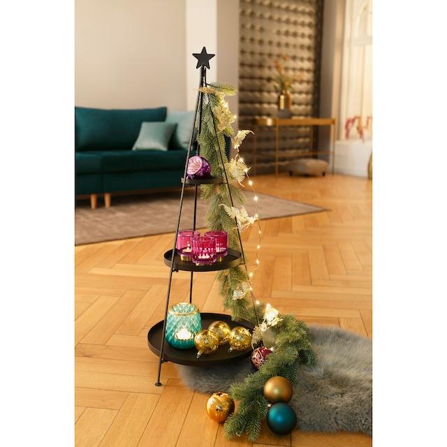 CHRISTMAS GOODS by Inge LED-Lichterkette »Blätter«
