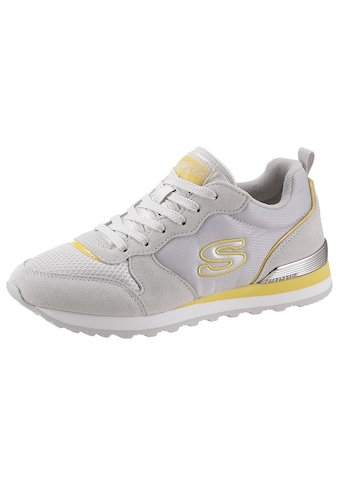 Skechers Sneaker »Nylon Quarter Lace Up Jogger«, im modischen Kontrastlook kaufen