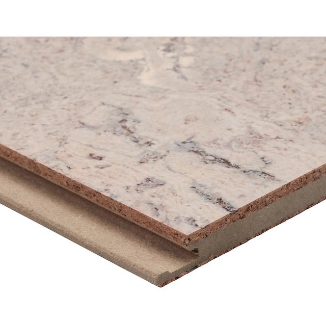 BODENMEISTER Packung: Korkparkett »weiß«, 90 x 30 cm Fliese, Stärke: 10,5 mm