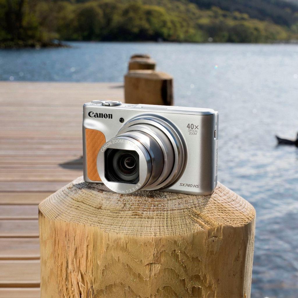 Canon Kompaktkamera »PowerShot SX740 HS«, 20,3 MP, 40x opt. Zoom, Bluetooth-WLAN (Wi-Fi)