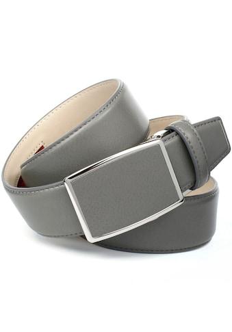 Anthoni Crown Ledergürtel, in Hirschprägung mit teilbezogener Schließe kaufen