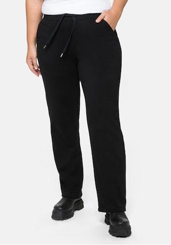 Sheego Schlupfhose, mit Kordelzug und geradem Bein kaufen