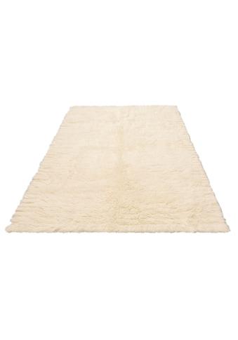 Leonique Wollteppich »Kjara«, rechteckig, 40 mm Höhe, reine Wolle, echter Flokati,... kaufen