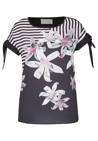 VIA APPIA Romantisches Blusen-Shirt mit Front-Print kaufen