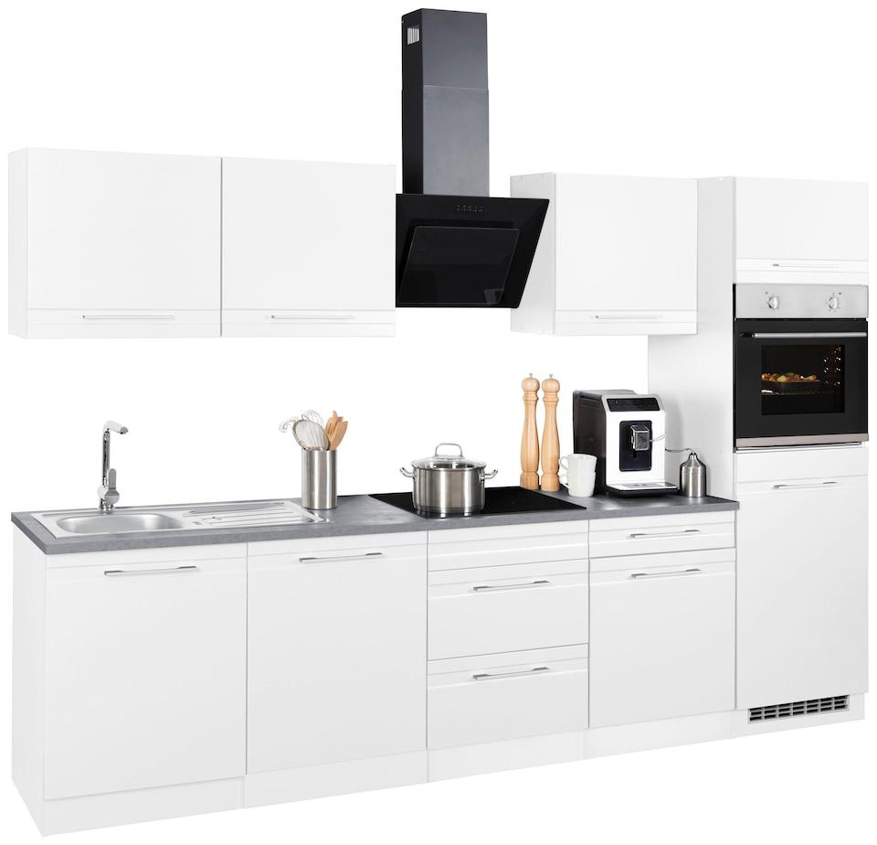 Held Möbel Küchenzeile Mito Ohne E Geräte Breite 300 Cm Bequem