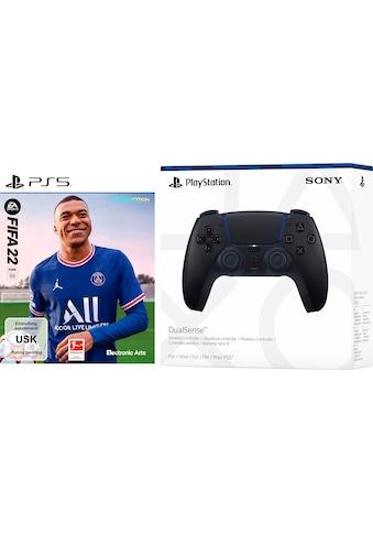 Electronic Arts Spiel »FIFA 22 + DualSense Midnight Black«, PlayStation 5 kaufen