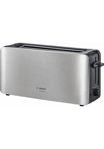 BOSCH Toaster »ComfortLine TAT6A803«, für 2 Scheiben, 1090 Watt kaufen