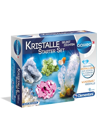 Clementoni® Experimentierkasten »Galileo - Kristalle selbst züchten, Starter-Set«,... kaufen