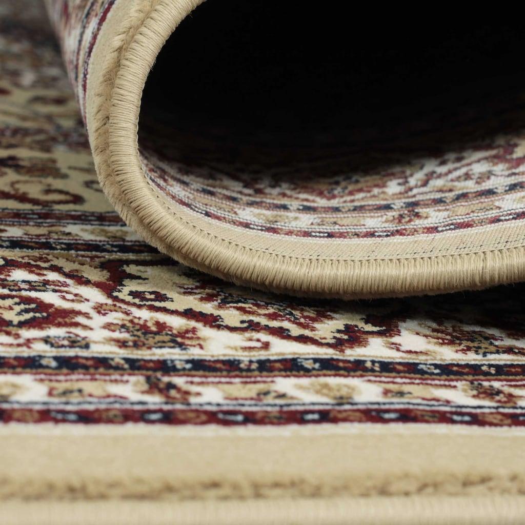 Sehrazat Teppich »Excellent 802«, rechteckig, 11 mm Höhe, Kurzflor in Orient Optik, Wohnzimmer