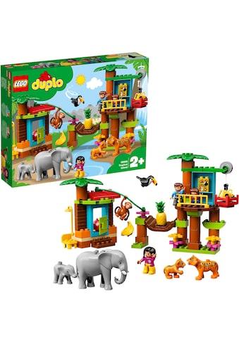 """LEGO® Konstruktionsspielsteine """"Baumhaus Dschungel (10906), LEGO® DUPLO®"""", (73 - tlg.) kaufen"""