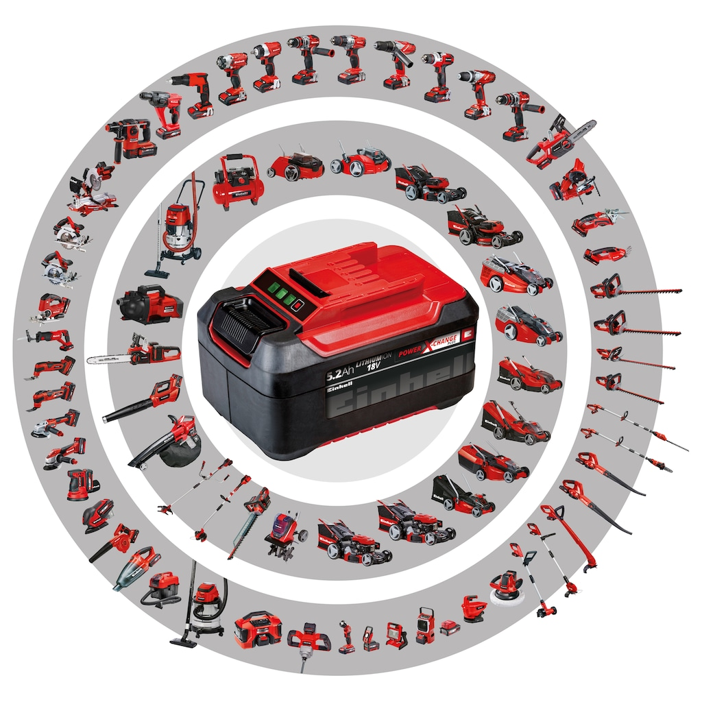 Einhell Akku-Bohrschrauber »TE-CD 18/2 Li Kit«, Power X-Change, inkl. Akku und Ladegerät