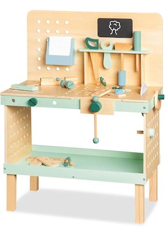 Pinolino® Werkbank »Jupp«, FSC®-Holz aus gewissenhaft bewirtschafteten Wäldern kaufen