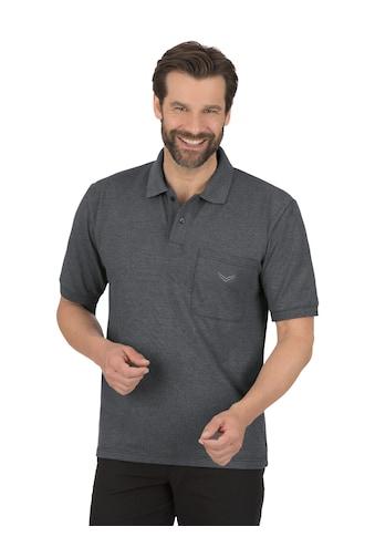 Trigema Poloshirt, mit Brusttasche kaufen