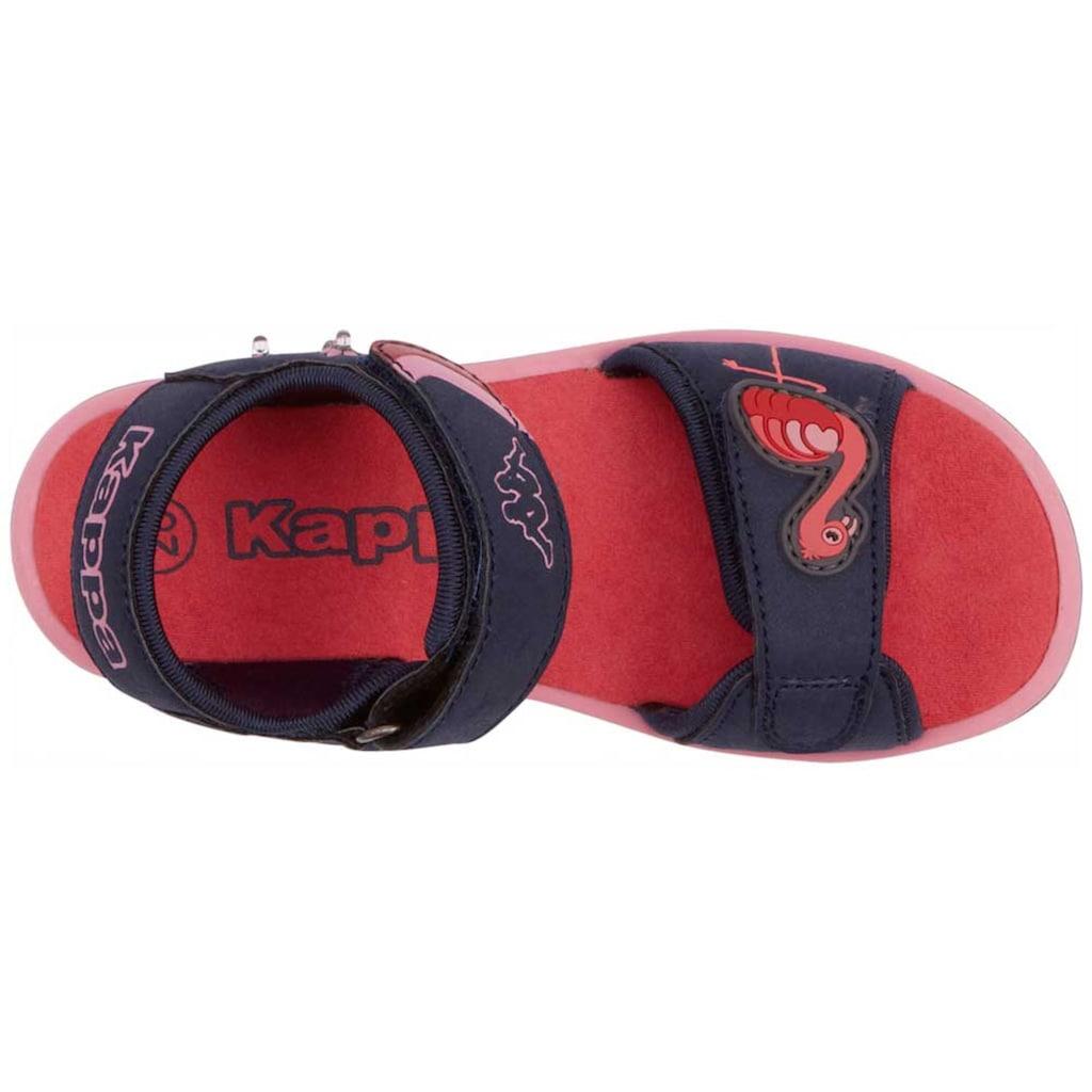 Kappa Sandale »FLINGO KIDS«, mit cooler Blinkfunktion