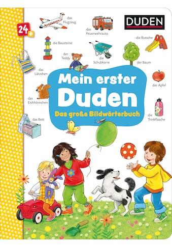 Buch »Duden 24+: Mein erster Duden. Das große Bildwörterbuch / Katja Schmiedeskamp« kaufen