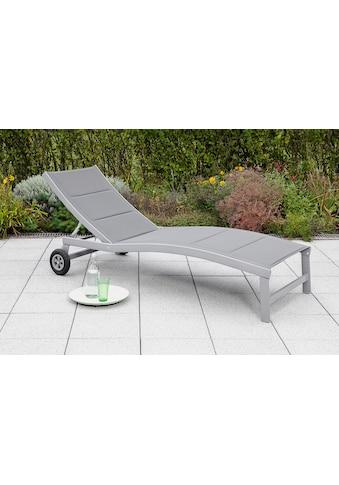 MERXX Gartenliege »San Marino«, Aluminium kaufen