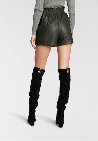 HaILY'S Shorts, aus Lederimitat kaufen