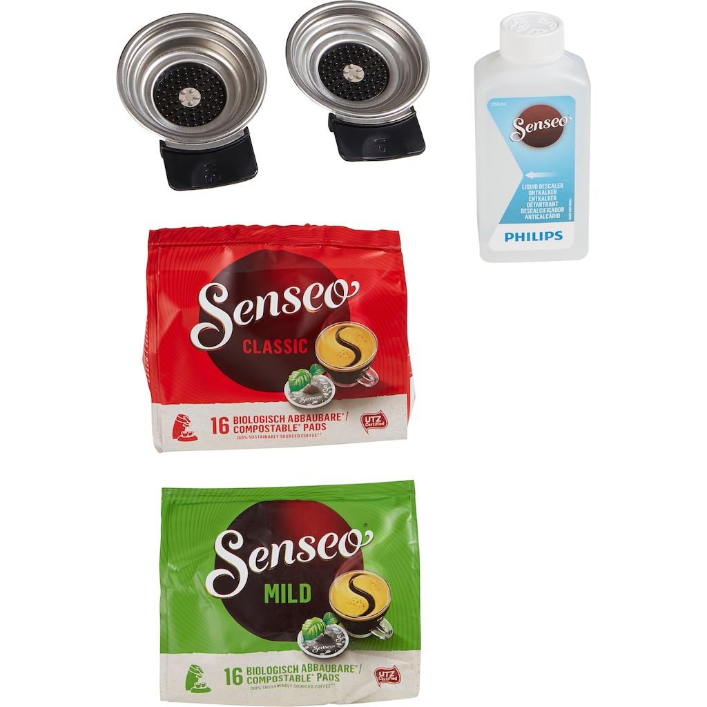 Senseo Kaffeepadmaschine »HD6574/20 Latte Duo«, inkl. Gratis-Zugaben im Wert von 14,- UVP