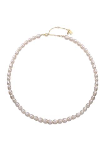 AILORIA Perlenkette »SHIORI gold/weiße Perle«, 925 Sterling Silber vergoldet... kaufen