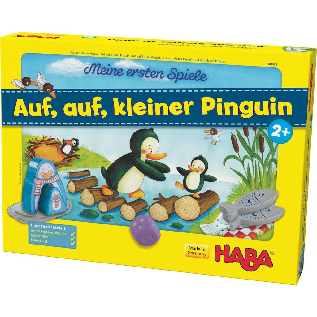Haba Spiel »Meine ersten Spiele - Auf, auf, kleiner Pinguin!«, Made in Germany