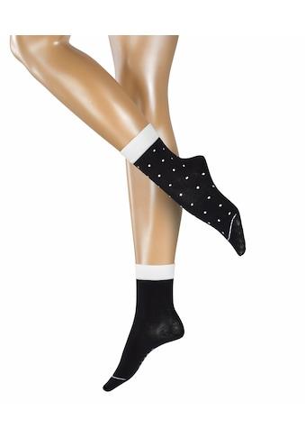 Esprit Socken »Small Dots 2-Pack«, (2 Paar), mit Punktdesign kaufen