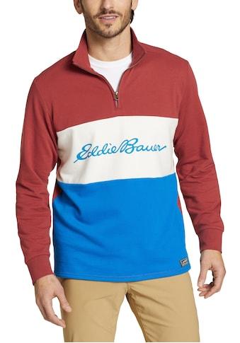 Eddie Bauer Sweatshirt, Camp Fleece - 1/4 Reißverschluss kaufen