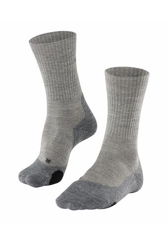 FALKE Wandersocken »TK2 Wool Trekking«, (1 Paar), mit mittelstarker Polsterung kaufen