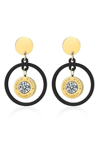 AILORIA Paar Ohrhänger »AUDREY Ohrringe«, aus glänzendem Edelstahl kaufen