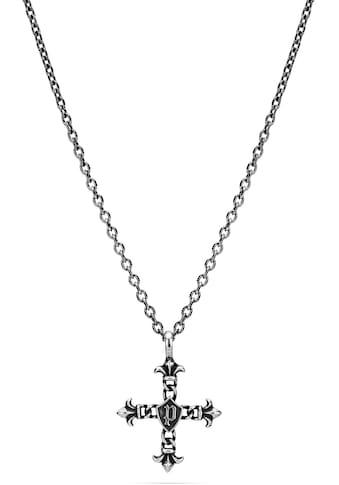 Police Edelstahlkette »Kreuz, Lilie, KUDOS, PEJGN2112811, PEJGN2112812« kaufen