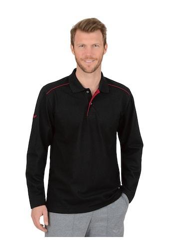Trigema Langarm Poloshirt aus Biobaumwolle kaufen