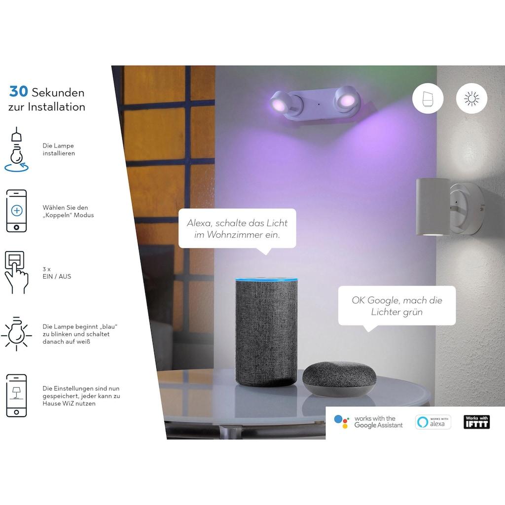 TRIO Leuchten LED Deckenleuchte »NALIDA«, LED-Board, Warmweiß-Neutralweiß-Tageslichtweiß-Kaltweiß, Mit WiZ-Technologie für eine moderne Smart Home Lösung