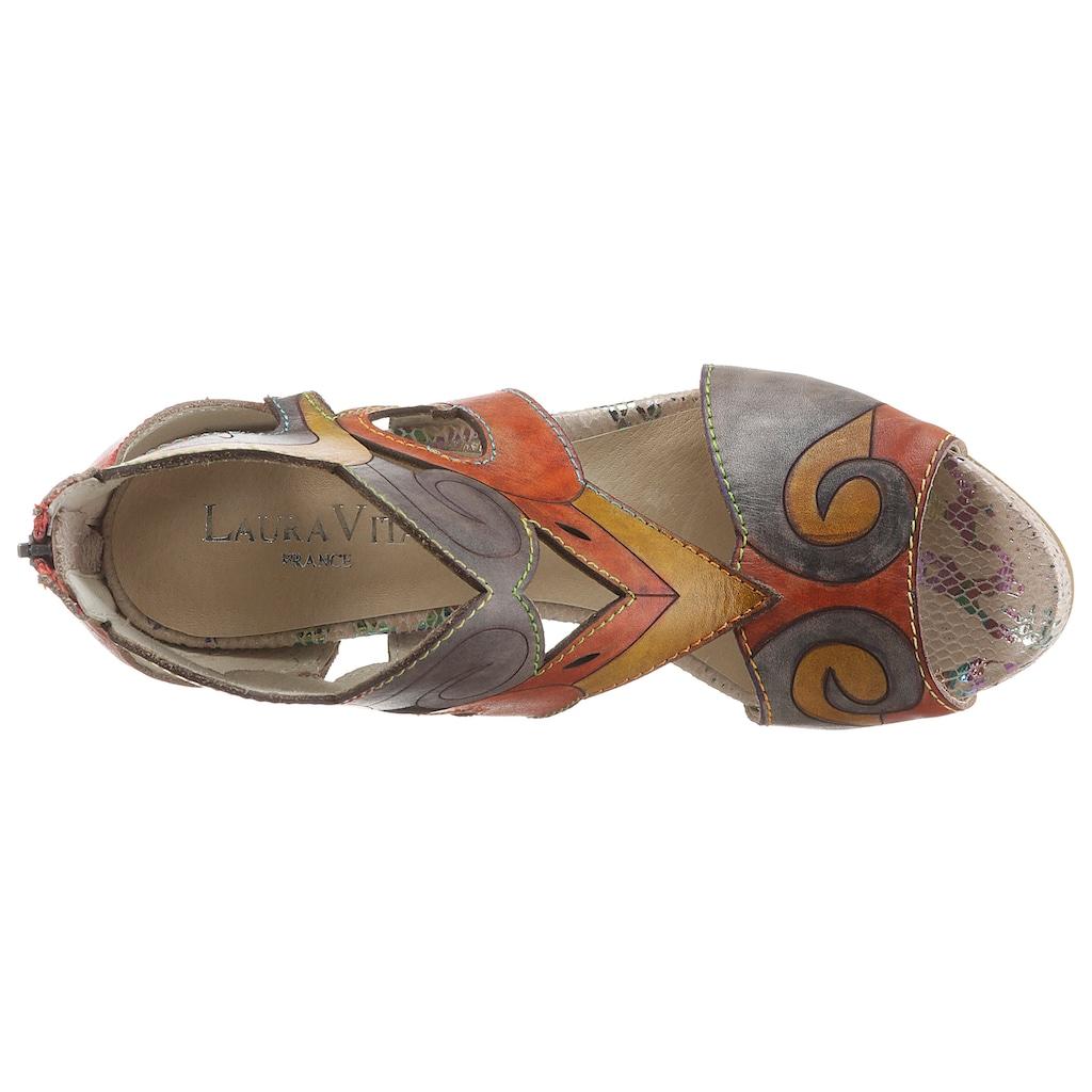 LAURA VITA Sandalette »ALCBANEO 121«, im extravaganten Look