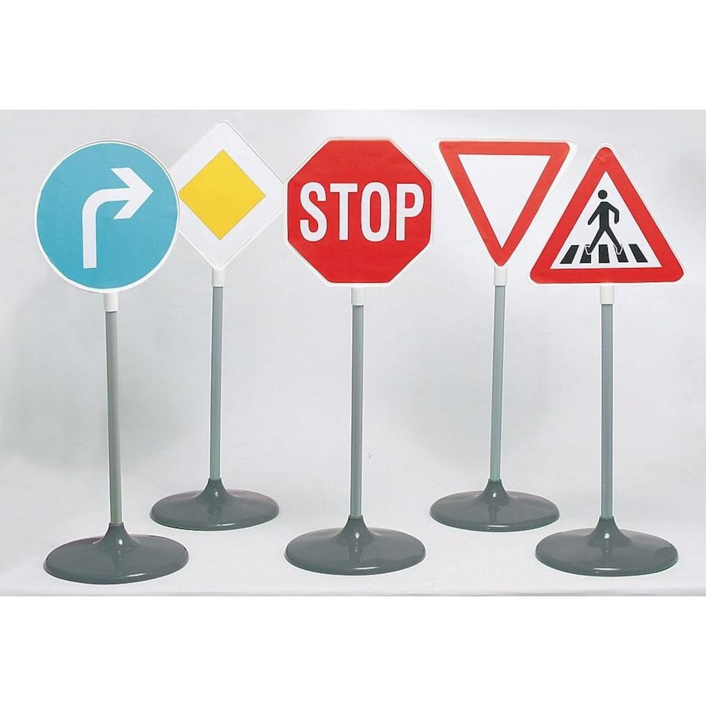 Klein Spiel-Verkehrszeichen, Made in Germany